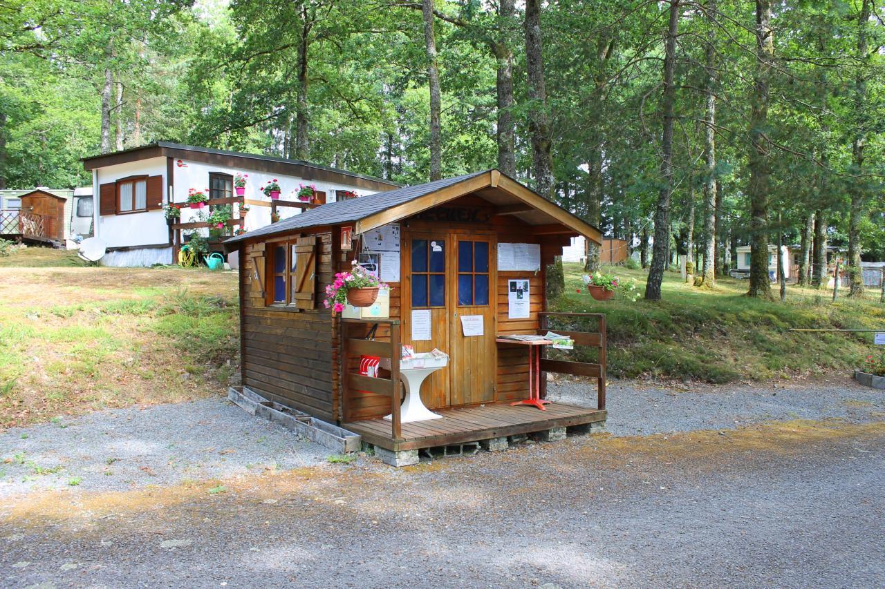 Réception du camping